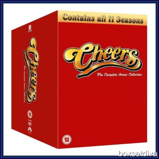 Cheers The Complete Seasons 1 11 Series Collection DVD Boxset Brand