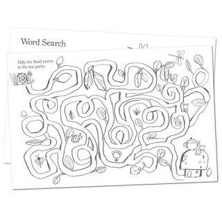 eeBoo Activity Book   Busy Garden   Fairies   Coloring, Drawing, Word