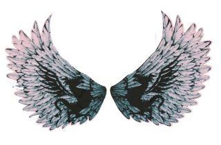 White EL Eagles wings sticker Music EL Panel Car Sticker EL equalizer
