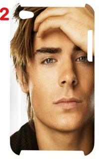 Zac Efron Fans iPod Touch 4G Hard Case Assorted Style Back Case Only