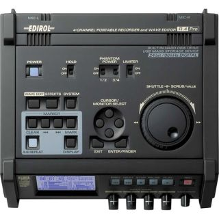 Edirol Roland R 4 Pro 4 Channel Portable Recorder R4