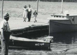 RPPC Egg Harbor Wisconsin Alpine Hotel Boat Dock HIC Up Wisconsin Wis