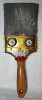 BUTCH ANTHONY FOLK ART SCULPTURE PAINT BRUSH HEAD