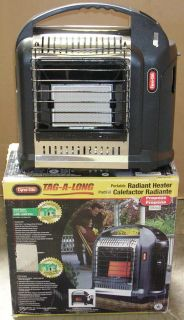 the dyna glo 8000 btu portable radiant heater has 2 heat settings