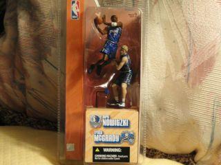 NBA MCFARLANE DIRK NOWITZKI (DALLAS) & TRACY MCGRADY (ORLANDO)