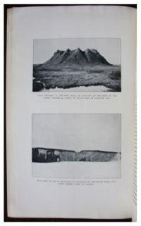 1913 Stefansson Alaska Western Arctic America Eskimo Tribes Color Map