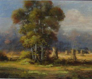 Listed American Artist Edward R Sitzman 1874 1949