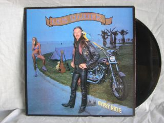 Les Dudek Gypsy Ride 1981 Columbia LP