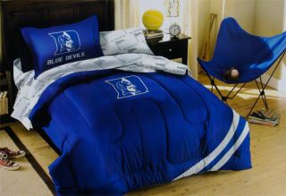 Duke Blue Devils Twin Comforter Set