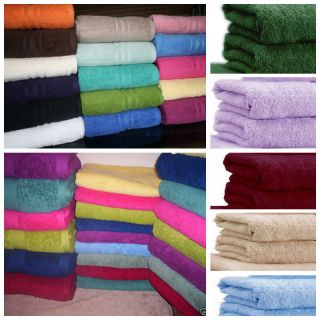 Egyptian Cotton Towels Face Hand Bath Towel Bath Sheet 600 GSM Free P