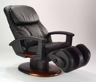 Humantouch HT 135 Massage Chair Power Electric Recliner Black Leather