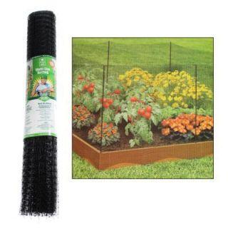 Easy Gardener Multi Use Netting Black Plastic Barrier Flower Trellis 3