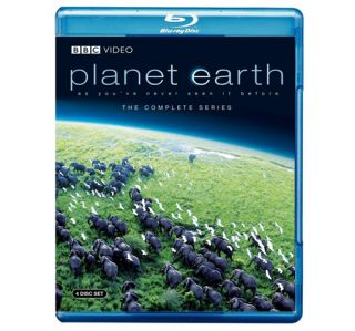 Planet Earth The Complete BBC Series 4 Disc Blu Ray Set