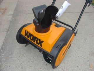 Worx WG650 18 Electric Snowblower Snow Blower Thrower