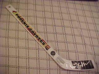 Phoenix Coyotes Oliver Ekman Larsson Signed Logo Stick