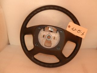2010 2011 2012 CHEVY EXPRESS GMC SAVANA VAN OEM EBONY STEERING WHEEL