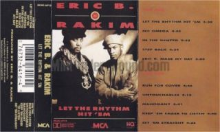 Rakim Let The Rhythm Hit Em New York Rap Hip Hop Classic