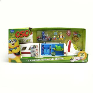Special Agent Oso Rapide Command Center Playset New