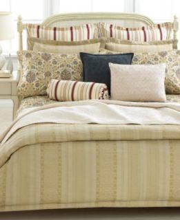 Ralph Lauren Chaps Camellia Queen Comforter Set Blue White