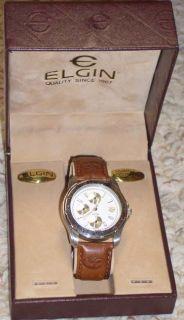 1980s Ocean Spray Elgin Employee Watch Mint in Box