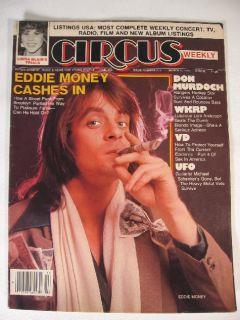 1979 Circus Mag Loni Anderson UFO Eddie Money