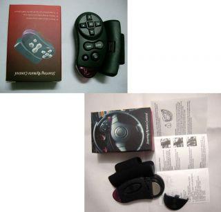 Car Steering Wheel Remote Control for DC DVD TV GPS Nav