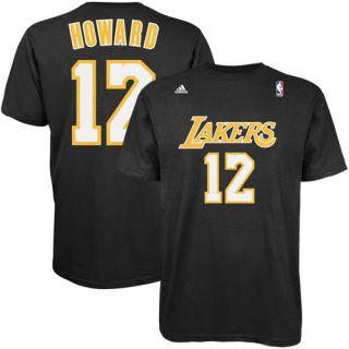 Adidas Dwight Howard Los Angeles Lakers Player T Shirt Black XL