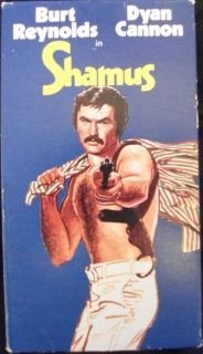 SHAMUS VHS BURT REYNOLDS DYAN CANNON 1973 MOVIE