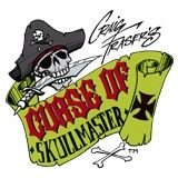 Curse of Skullmaster Airbrush Paint Stencil Template Buccaneer Artool