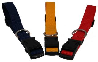 large economy polyprolene dog collars 1 wide adjust from 18 to 24