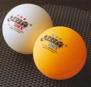 500pcs●dhs●double HAPPINESS●3 Star Table Tennis Balls