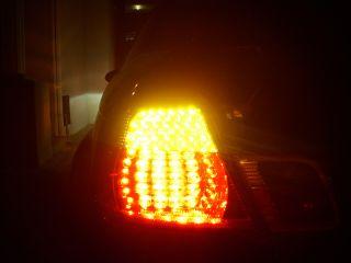 Depo 1999 2003 BMW E46 2D Coupe Red Smoke Smoked LED Rear Tail Light