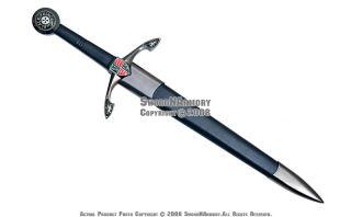black prince medieval knight dagger knife w scabbard