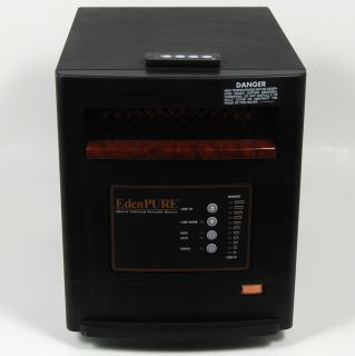Edenpure Quartz Infrared Portable Heater Model USA1000
