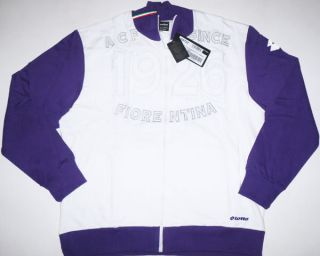 Fiorentina Tracksuit Top Jacket Soccer Jersey Shirt New