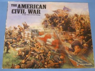 Eagle Games The American Civil War An Epic Game of Grand Strategy for