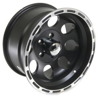 Eagle Alloys Wheel Series 185 Aluminum Black 15x10 5x5 BC 3.625