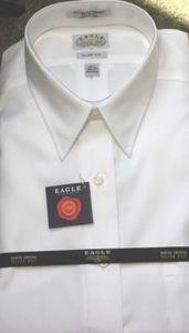 Eagle White Point Collar 100 Cotton Non Iron Shirt