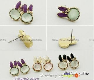 Women Fashion Sweet Cute Rabbit Ear Pin Earring New FAEAR005