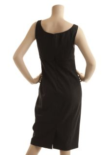 Rebecca Taylor Black Wool Shift Dress New Size 6