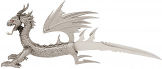 Paul Ehlers Draco Dragon Dagger Fantasy Knife Highly Detailed 20 with