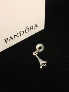 Authentic Pandora Eiffel Tower Charm Bead NEW 791082 MIB Sterling