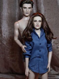 OOAK Pregnant Twilight Breaking Dawn Tonner Doll Repaint Bella Cullen