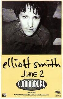 Elliott Smith Vancouver 2000 Concert Poster