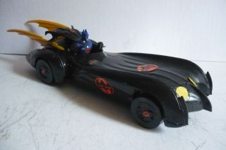 Mexican Batman Batmobile Plastic Toy Car Made in Mexico