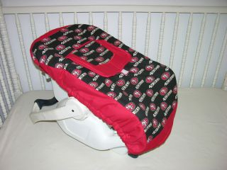 Car Seat Carrier Cover M w San Francisco 49ers Fabric