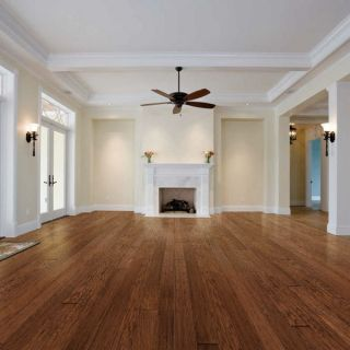Handscraped Hickory Hardwood Flooring Wood Floor