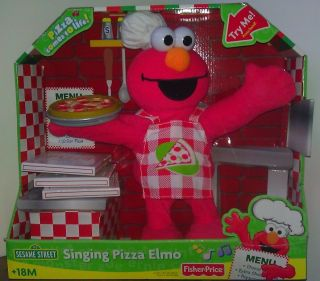 Singing Pizza Elmo Doll Collectors Item