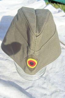 WW2 German Army Style Garrison Cap Hat Postwar