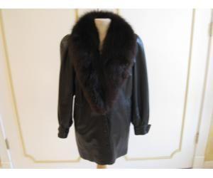 EFREM sz XS black lamb leather jacket. THERMALINE INSTALLATION
